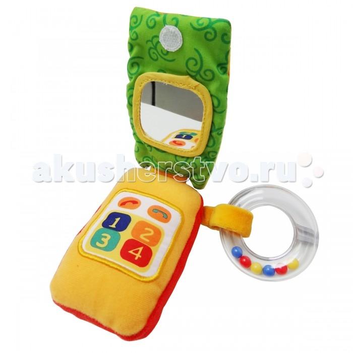 Развивающие игрушки Ути Пути Телефон Сова со звуком телефон