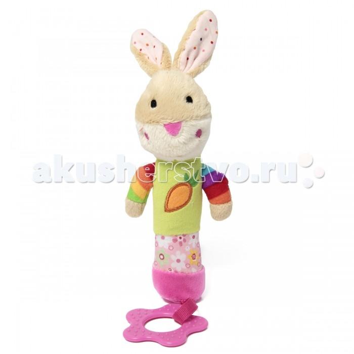 Мягкие игрушки Ути Пути Кролик пищалка ути пути разв игрушка пищалка лягушонок 20 см