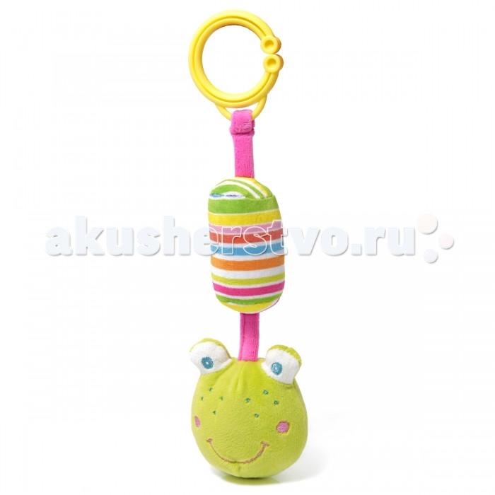Подвесные игрушки Ути Пути Лягушонок с погремушкой ути пути разв игрушка пищалка лягушонок 20 см