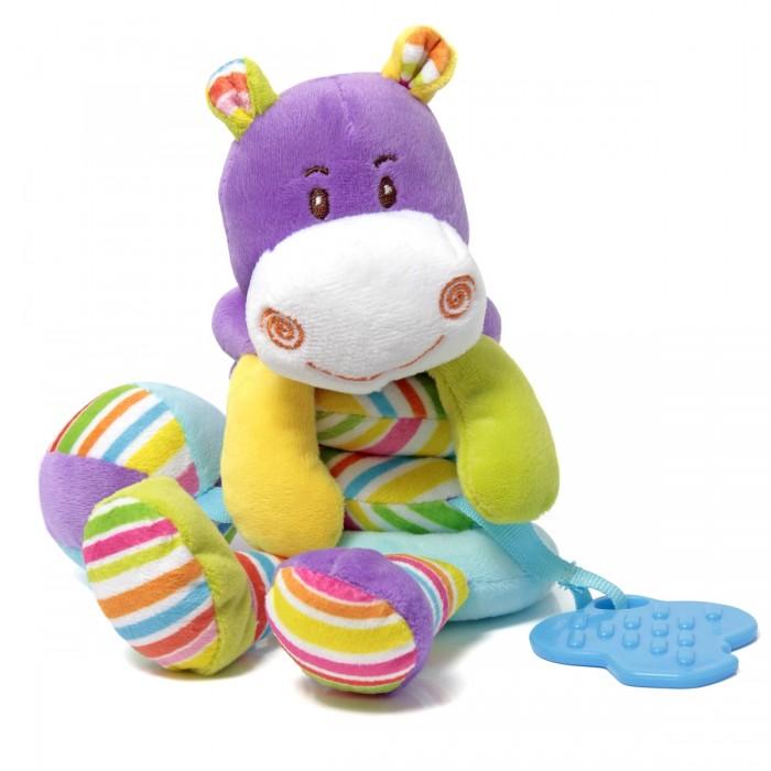 Развивающие игрушки Ути Пути Растяжка Бегемотик с прорезывателем цена и фото