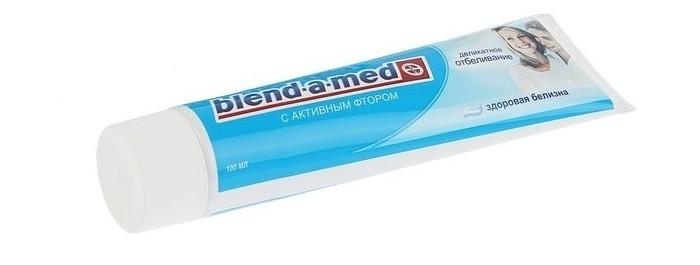 Гигиена полости рта Blend-a-med Зубная паста Анти-Кариес Здоровая Белизна 100 мл зубная паста анти кариес мята blend a med 100 мл