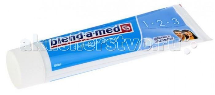 Гигиена полости рта Blend-a-med Зубная паста 3 Эффект Деликатное отбеливание 100 мл гигиена полости рта colgate зубная паста бережное отбеливание 100 мл
