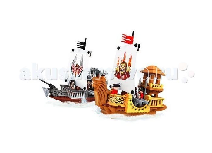 Конструкторы Ausini серии Пираты 438 деталей конструктор ausini серии пираты 285 27601