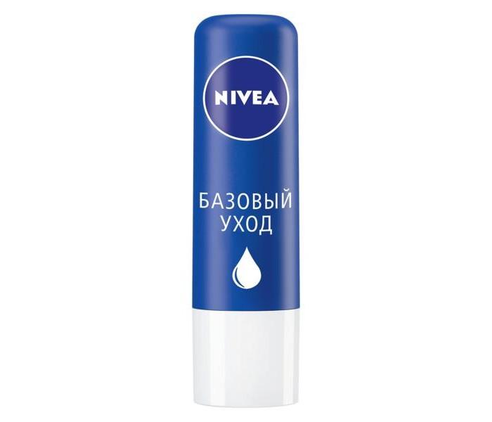 Косметика для мамы Nivea Lip Care Бальзам для губ Базовый уход 4.8 г nivea бальзам для губ базовый уход nivea