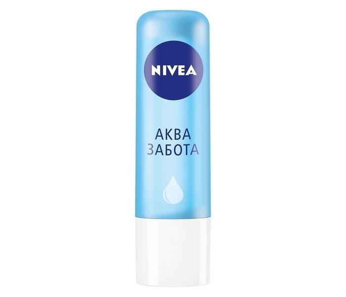 Косметика для мамы Nivea Lip Care Бальзам для губ Аква Забота SPF 15 4.8 г doyen face lift device lip care tool