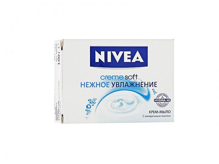 Косметика для мамы Nivea Крем-мыло Нежное увлажнение 100 г nivea нежное увлажнение