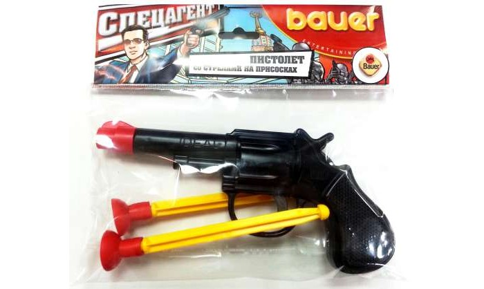 Игрушечное оружие Bauer Игрушка Пистолет Спецагент bauer
