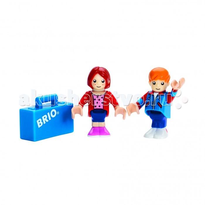 Brio Пассажиры, 2 фигурки и чемоданчик