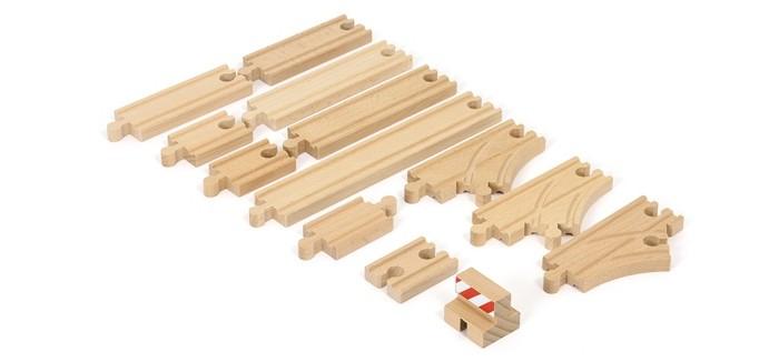 Brio Базовый набор железнодорожных элементов