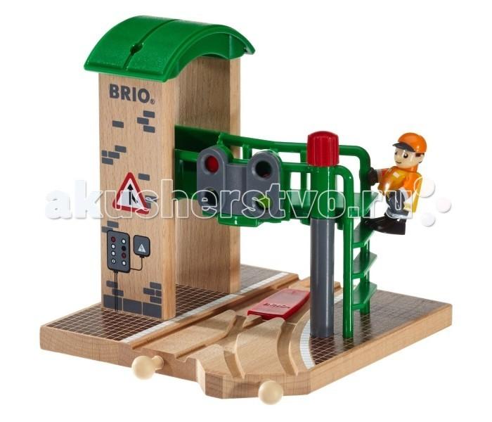 Brio Сигнальная станция c механическим переключением светофоров