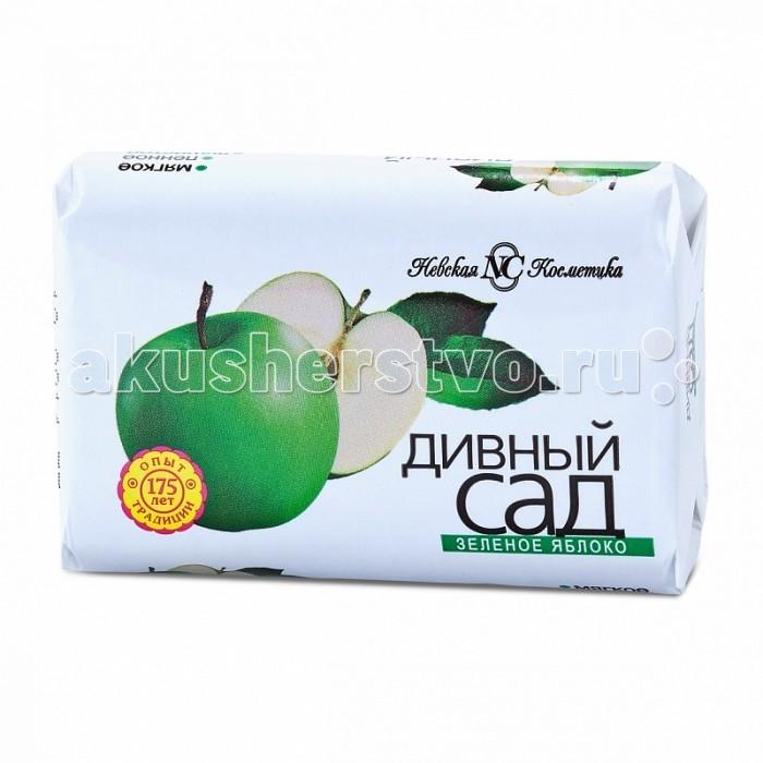 Косметика для мамы Невская Косметика Мыло Дивный сад Зеленое яблоко 90 г мыло нк вишневый сад 90 г