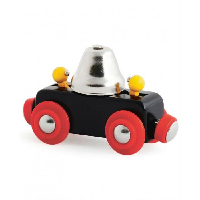 Железные дороги Brio Вагончик с сигнальным колокольчиком звон при движении