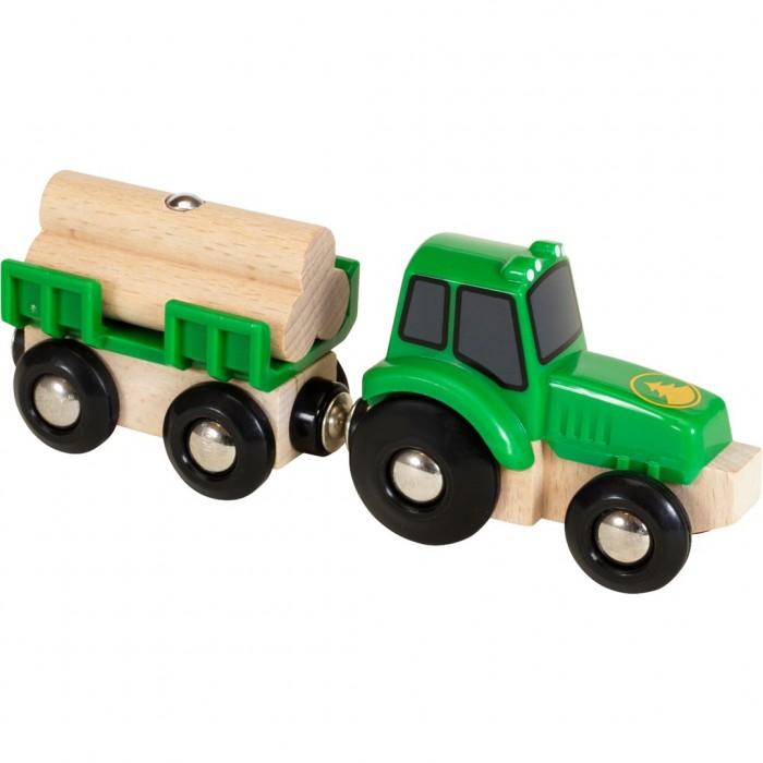 цена на Машины Brio Трактор с бревнами