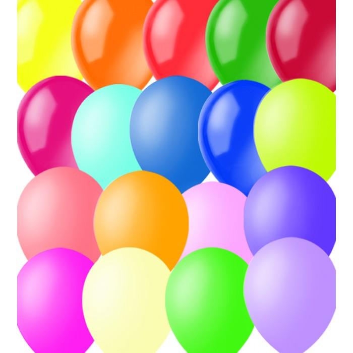 Товары для праздника Поиск Воздушные шары ассорти пастель 100 шт.