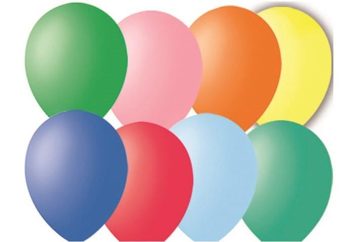 Поиск Воздушные шары ассорти пастель 30 см 100 шт.