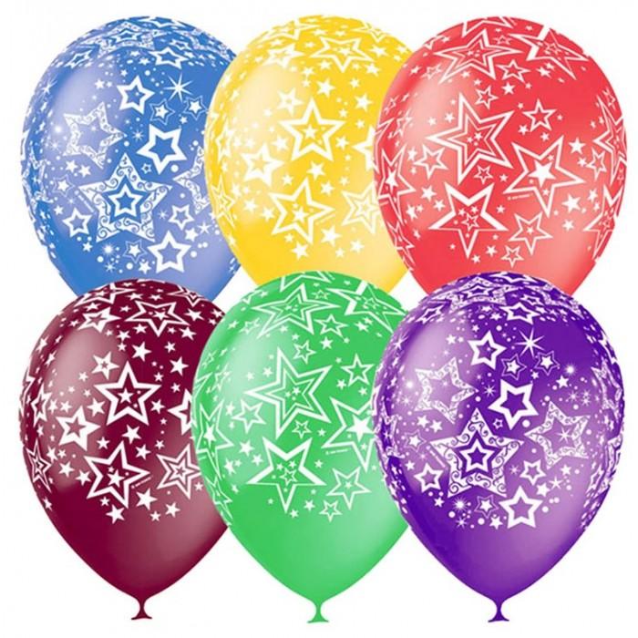 Фото Товары для праздника Поиск Воздушные шары Звезды 25 шт.