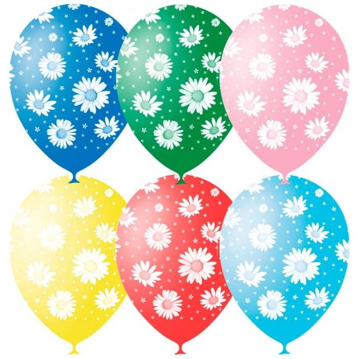 товары для праздника поиск воздушные шары ассорти флюорисцентные 100 шт Товары для праздника Поиск Воздушные шары Ромашки пастель 25 шт.