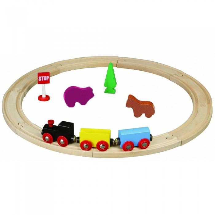 Balbi Железная дорога WT-069 (15 деталей)  цены