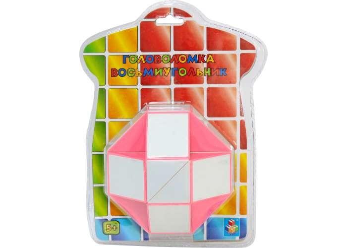 Развивающие игрушки 1 Toy Головоломка 3D восьмиугольник 3d головоломка робот красный 90151