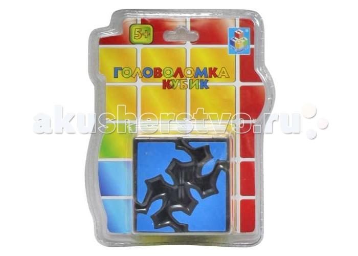 Развивающие игрушки 1 Toy Головоломка 3D кубик