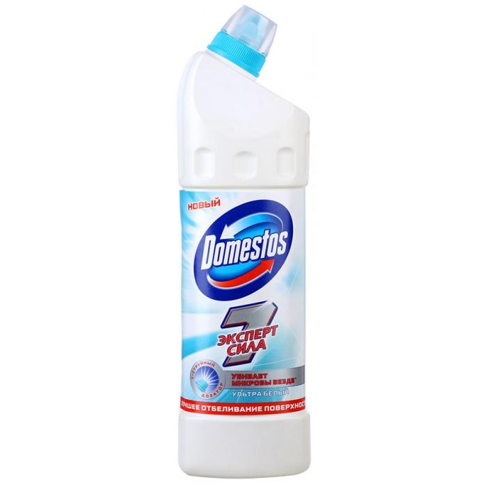 Бытовая химия Domestos Чистящее средство для унитаза Эксперт Сила 7 Ультра белый 1 л domestos