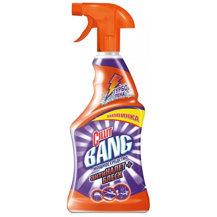 Бытовая химия Cillit Bang Средство чистящее Антиналет + блеск 750 мл чистящее средство uniplus для стекол блеск 750 мл
