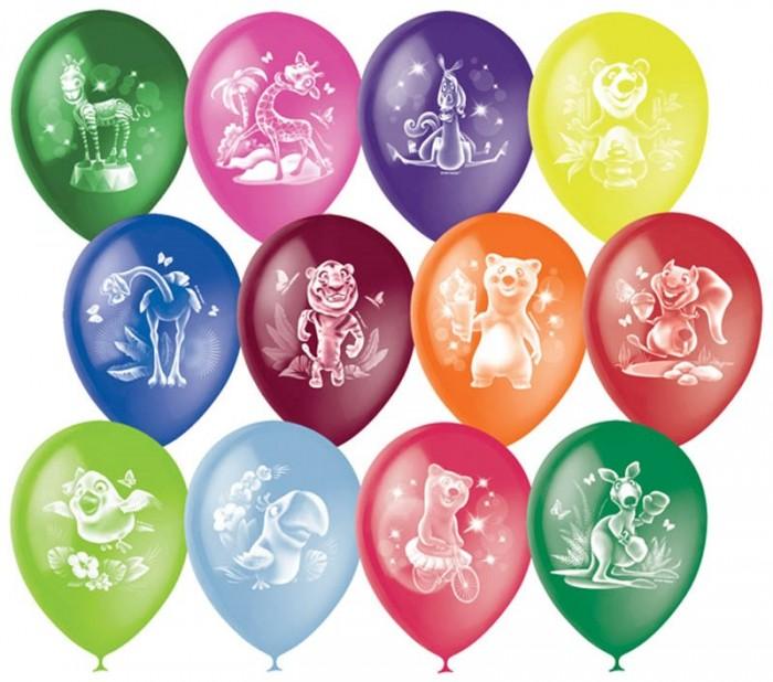 Товары для праздника Поиск Воздушные шары Веселый зоопарк 50 шт. товары для праздника поиск воздушные шары с днем рождения 50 шт