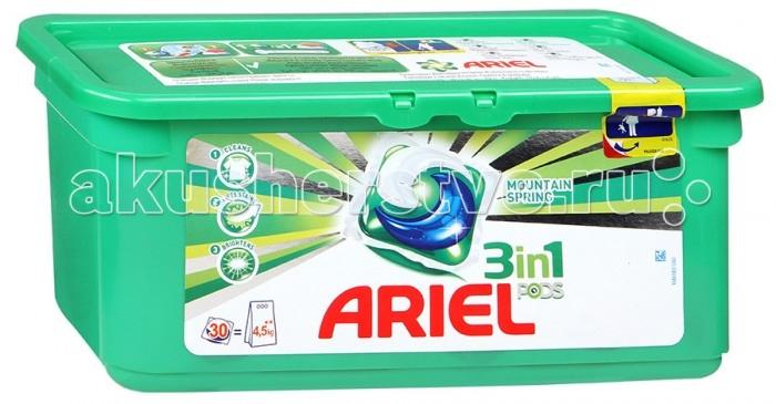 Бытовая химия Ariel Капсулы для стирки Pods Горный родник 30 шт. капсулы для качества спермы