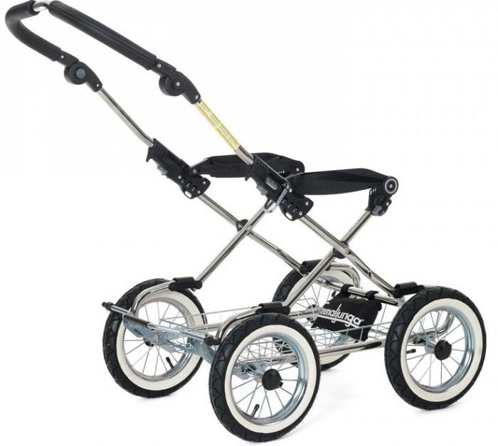 Купить Аксессуары для колясок, Emmaljunga Шасси Classic Chrome Leather