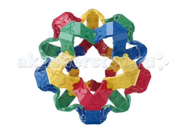 Конструктор LaQ  Free Style Palette (1000 элементов)Free Style Palette (1000 элементов)Конструктор LaQ Free Style Palette (1000 элементов) это безграничные возможности создания плоских и объемных моделей с помощью основных видов деталей и запатентованной системы соединений. Гибкие и прочные элементы выполнены из высококачественного нетоксичного пластика ярких цветов, они легко и надежно соединяются друг с другом, образуя устойчивые конструкции, поэтому с готовой игрушкой можно играть в свое удовольствие.   В наборе представлены фигуры квадрата и треугольника, пять видов соединительных креплений.   Время, проведенное в творчестве с конструктором LaQ – это не только время радости, творчества и вдохновения, но и время для развития полезных навыков ребенка, увлекательной подготовки к школе, развития мелкой моторики рук, выработки аккуратности, усидчивости, внимательности.  В наборе 1000 деталей.<br>