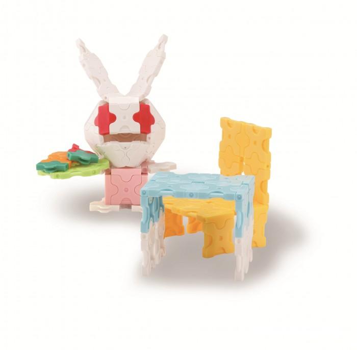 Конструкторы LaQ Sweet Collection Bunny Кролик (175 деталей) конструкторы bridge большой кафе 175 деталей