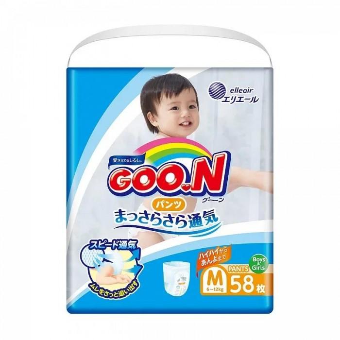 GooN Подгузники-трусики M (6-12 кг) 58 шт.