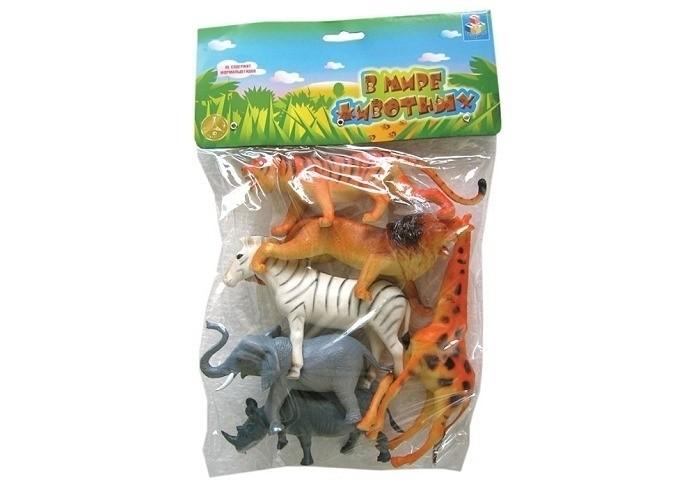 Купить 1 Toy Набор Дикие животные 6 фигурок в интернет магазине. Цены, фото, описания, характеристики, отзывы, обзоры