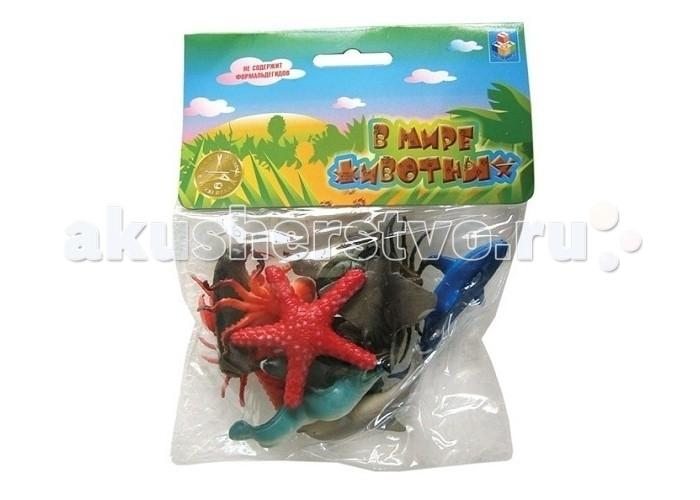 Игровые фигурки 1 Toy Набор фигурок Морские животные 12 шт. кмв животные отдам в хорошие руки
