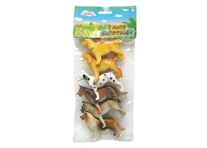 Игровые фигурки 1 Toy Набор фигурок Собаки 6 шт. набор фигурок good dinosaur кеттл и раптор 62305