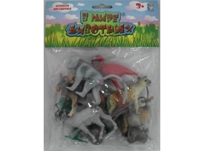 Игровые фигурки 1 Toy Набор фигурок Животные Африки 10 шт. есть белый цвет в наличии 5 шт в наборе света светящееся дерево fairy cartoon children ghost toy doll gift gift