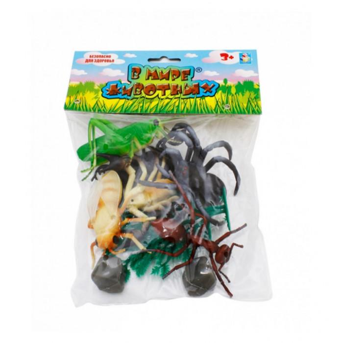 Игровые фигурки 1 Toy Набор фигурок Насекомые 10 шт. prostotoys набор фигурок вовка и василисы