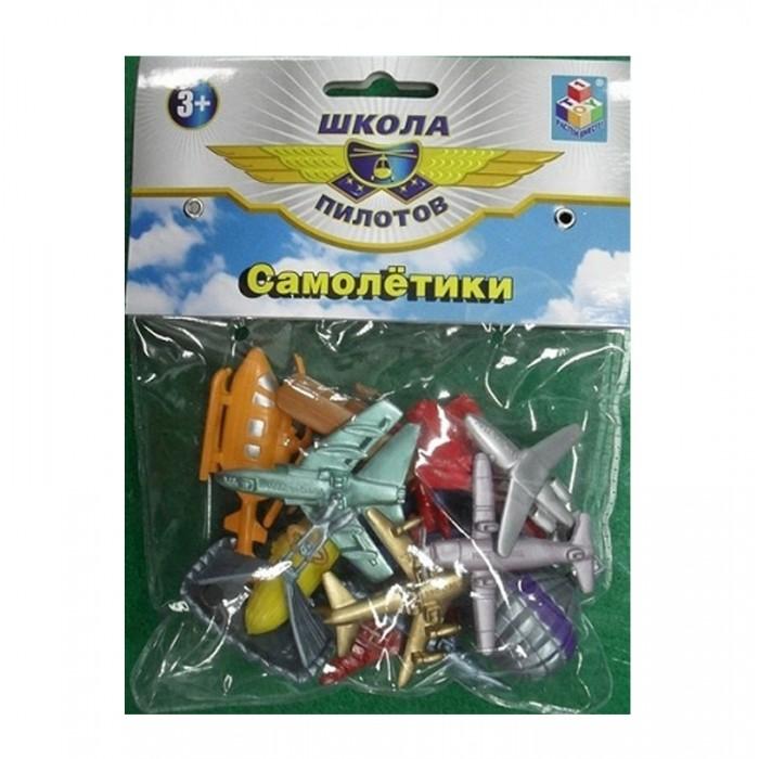 Игровые фигурки 1 Toy Набор фигурок Самолетики 12 шт. набор фигурок good dinosaur кеттл и раптор 62305
