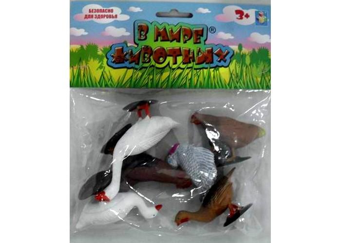 Игровые фигурки 1 Toy Набор фигурок Домашняя птица 5 шт. суперпредложение набор грибов домашняя полянка из 5 упаковок