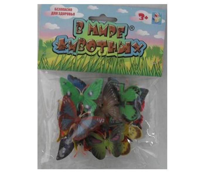 Игровые фигурки 1 Toy Набор фигурок Бабочки 12 шт. warcraft набор фигурок лотар чернорук грифон и волк 4 шт