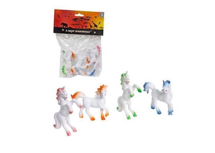 Игровые фигурки 1 Toy Набор фигурок Единорог 4 шт. prostotoys набор фигурок вовка и василисы