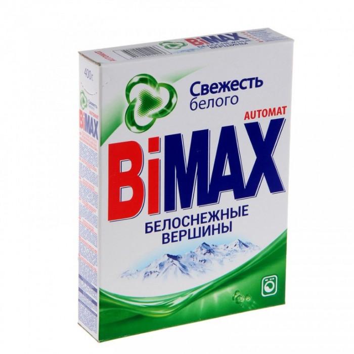 Бытовая химия BiMax Стиральный порошок Белоснежные вершины автомат 400 г  бытовая химия tide порошок для ручной стирки для белого и цветного 400 г