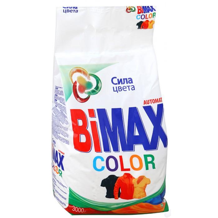 Бытовая химия BiMax Стиральный порошок Сolor автомат 3 кг