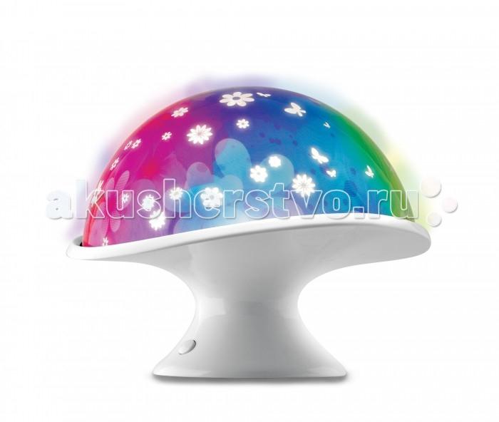 Светильник Uncle Milton Светильник-проектор Лунный гриб In My Room от Акушерство