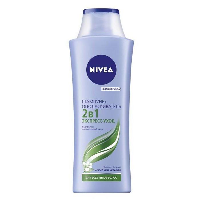 Косметика для мамы Nivea Шампунь 2 в 1 для всех типов волос 250 мл