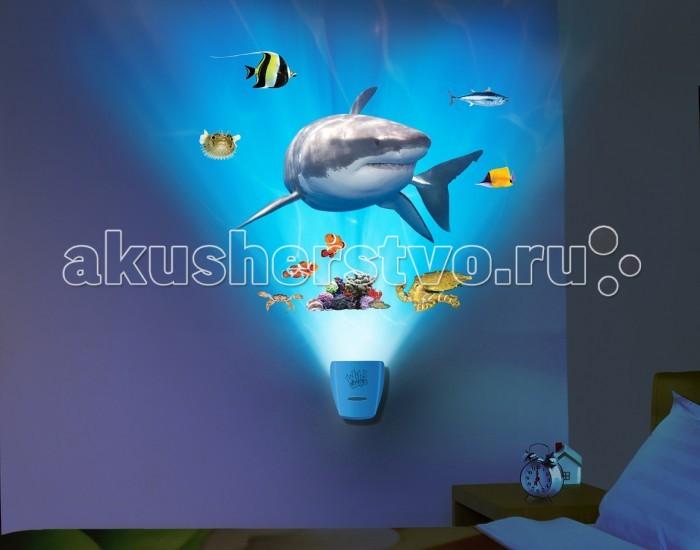 Uncle Milton Настенный проектор Встреча с белой акулой In My Room