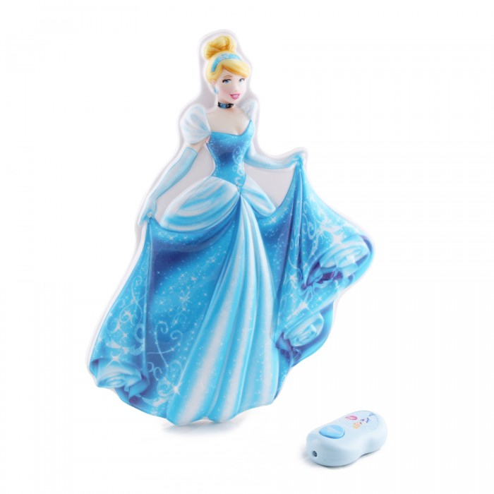 Светильник Uncle Milton Светильник Золушка In My Room DisneyСветильник Золушка In My Room DisneyСветильник Золушка.   Включите светильник и наблюдайте за тем, как ваш герой оживает.   Он светится и общается с вами. Требуется 3 АА и 2 батареи типа ААА (в комплект не входят). Возраст: 3+<br>