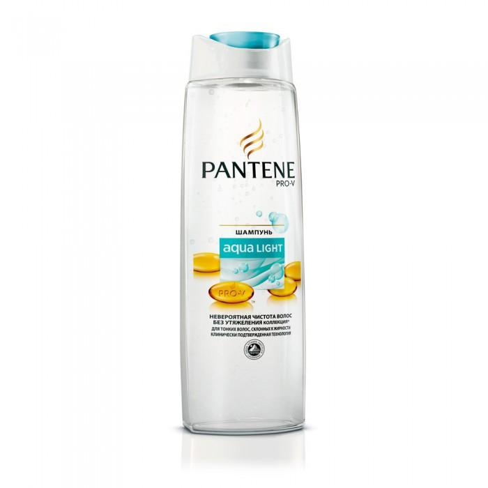 Косметика для мамы Pantene Легкий питательный шампунь Aqua Light для тонких склонных к жирности волос 250 мл шампуни ec lab шампунь для секущихся волос питательный 250мл