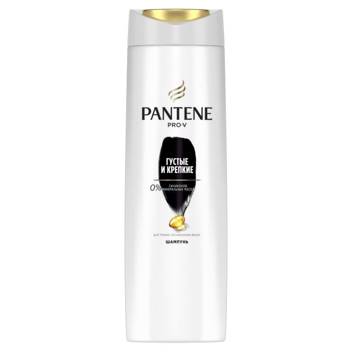 Косметика для мамы Pantene Шампунь Густые и крепкие для нормальных волос 400 мл здоровье и красота шампунь для нормальных волос