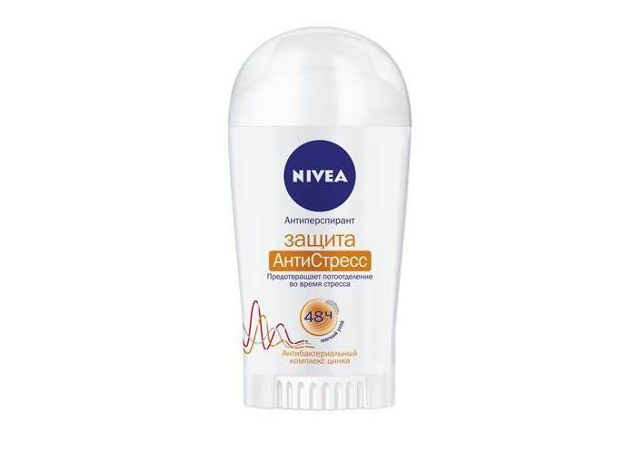 Косметика для мамы Nivea Дезодорант-антиперспирант стик Защита Антистресс 40 мл nivea nivea антиперспирант стик защита и забота 40 мл